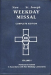 MISSAL - NEW ST. JOSEPH WEEKDAY MISSAL, VOLUME II (PENTECOST TO ADVENT)
