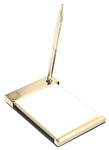 GOLD - NOTEPAD HOLDER #11G