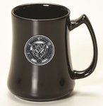 MUG - BLACK UNIVERSITY FASHION W/ PEWTER SEAL