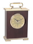 GOLD - LE GRANDE CARRIAGE MANTLE CLOCK