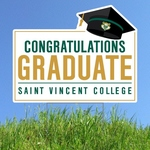 LAWN SIGN - GRADUATION SVC