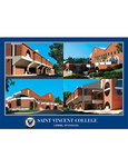 POSTCARD - ROBERT S. CAREY STUDENT CENTER (VARIOUS VIEWS)