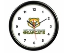 "WALL CLOCK - BEARCAT LOGO 9"" ROUND"