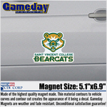 CAR MAGNET - NEW BEARCAT LOGO
