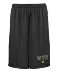 SHORTS - MEN'S B-CORE POCKETED W/ BEARCAT LOGO