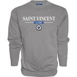 SWEATSHIRT - CREW SAINT VINCENT ALUMNI & SEAL