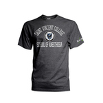 T-SHIRT - SCHOOL OF ANESTHESIA W/ SAINT VINCENT SEAL AND EXCELA HEALTH
