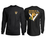 T-SHIRT - L/S SAINT VINCENT MARCHING BAND - BLACK