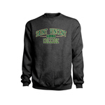 SWEATSHIRT - CREW DAD IN OVAL OUTLINED