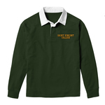 SHIRT - GREEN JACK COLLARED W/ SAINT VINCENT COLLEGE