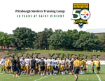 STEELERS - 50TH ANNIVERSARY COMMEMORATIVE BOOK