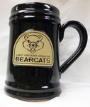 STEIN - OKTOBERSTEIN IN MOUNTAIN BROWN W/ BEARCAT LOGO
