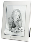 PICTURE FRAME - SILVER TWO TONE W/ SEAL 5x7