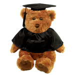 TEDDY BEAR - GRADUATE BLACK CAP/GOWN