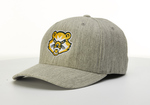 BASEBALL CAP - HEATHER GRAY W/ BEARCAT LOGO