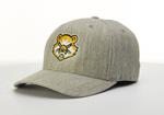 BASEBALL CAP - HEATHER GRAY W/ BEARCAT LOGO