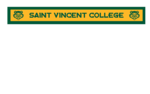 BANNER - THIN HORIZONTAL SAINT VINCENT COLLEGE W/ BEARCAT LOGO 6x48