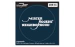 "MISTER ROGERS CIRCULAR STICKER - ""LOGO"""