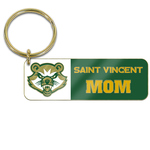 KEY CHAIN - MOM W/ BEARCAT LOGO (RECTANGLE)