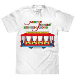 T-SHIRT - MISTER ROGERS' NEIGHBORHOOD (ADULT) TROLLEY