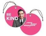 "MISTER ROGERS ""BE KIND"" CHRISTMAS ORNAMENT 3"""
