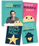 MISTER ROGERS NOTEABLES: INSPIRATION & KINDNESS CARDS