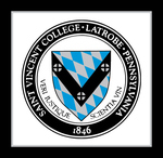 "PILLOW - 17""x17"" WITH SAINT VINCENT COLLEGE SEAL"