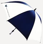 UMBRELLA - NAVY/WHITE W/ SAINT VINCENT SHIELD LOGO