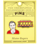 MISTER ROGERS AND TROLLEY PIN