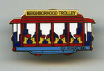 MISTER ROGERS TROLLEY PIN