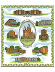 BLANKET - ST. VINCENT COLLEGE TAPESTRY