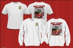 T-SHIRT - FIRE DEPARTMENT WITH NEW FIRE ENGINE - 2018