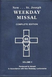 MISSAL - NEW ST. JOSEPH WEEKDAY MISSAL, VOLUME II (PENTECOST TO ADVENT)