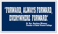 """BANNER - """"FORWARD, ALWAYS FORWARD, EVERWHERE FORWARD"""""""
