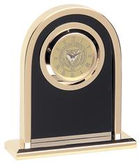 GOLD - ARCH CLOCK #38D