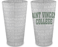 GLASS - FROSTED MIXING W/ BEARCATS WRAP AROUND