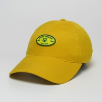 BASEBALL CAP - GOLD COOL FIT W/ RUBBER EMBOSSED LOGO
