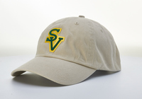 "BASEBALL CAP - ""SV"" FELT/TWILL APPLIQUE"