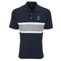 POLO - NAVY PRO BANNER W/ SHIELD