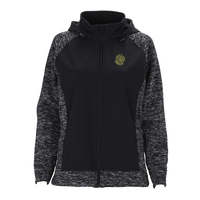 JACKET - WOMEN'S BLACK SOHO W/ PAW LOGO