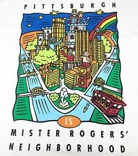 T-SHIRT - PITTSBURGH IS MISTER ROGERS' NEIGHBORHOOD (ADULT)