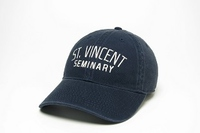 BASEBALL CAP - SAINT VINCENT SEMINARY IN NAVY