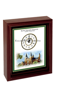 DESK CLOCK - EGLOMISE TRADITIONAL